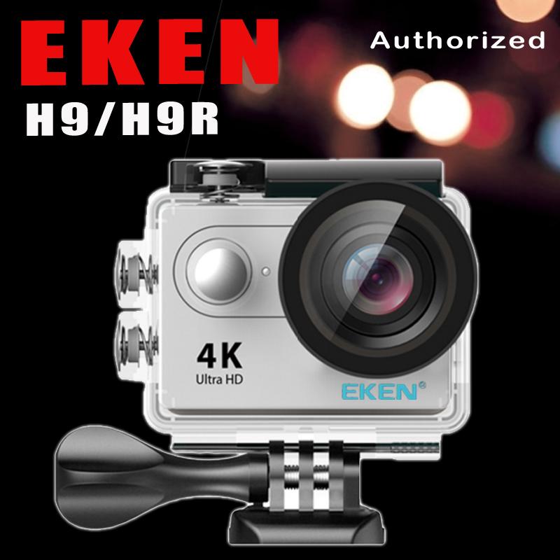 Prix pour D'origine EKEN H9/H9R D'action À Distance Caméra Ultra HD 4 K WiFi 1080 P/60FPS 2.0 LCD 170D Lentille Sport Cam Aller Étanche Pro caméra