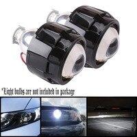 Black Left Drive Auto Car 2 5 Inch 2 5 LHD HID Projector Kit Lens