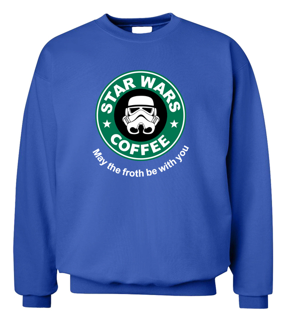 Star Wars Coffee Funny Sweatshirt (6  Colors)