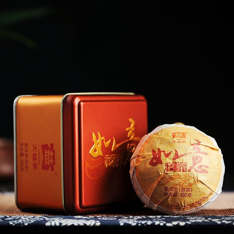 [GRANDNESS] RUYI * 2014 puerh premium Tuocha menghai dayi pu-erh tea Ripe Tuo Cha Pu Erh shu pu erh 100g puer taetea