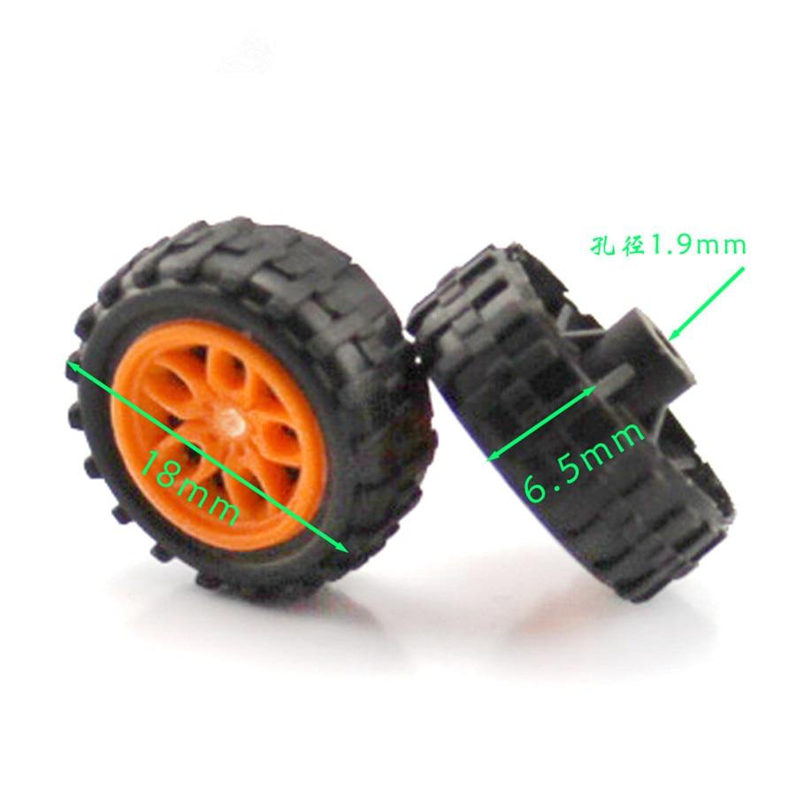 4pcs/pack J446 Orange Color Simulation Flower Shaped Hub Wheel Rubber Model Car Wheel DIY Cheap Parts 1pc j391 80mm diameter rubber wheel 1 16 simulation separable model car wheel remote car plastic hub free shipping russia