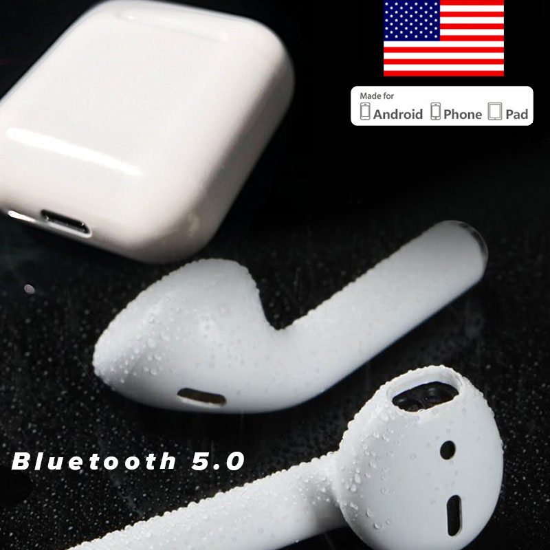 TWS Bluetooth v5.0 Earphone Wireless Headset Charging Function Sport Earbuds With Mic For Airpods iPhone Android PK i9s i7s IPX6 a7 tws wireless bluetooth headset stereo handfree sports bluetooth earphone with charging box for iphone android pk x2t i7 i7s