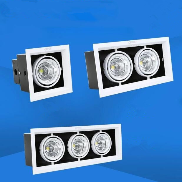 1pcs High power COB LED Downlights 10w 20w 30w Surface Mounted dimmable LED Ceiling Lamps Spot Light square Rotation AC85-265V diy 20w 3000k 2100lm square cob led module dc 36 45v