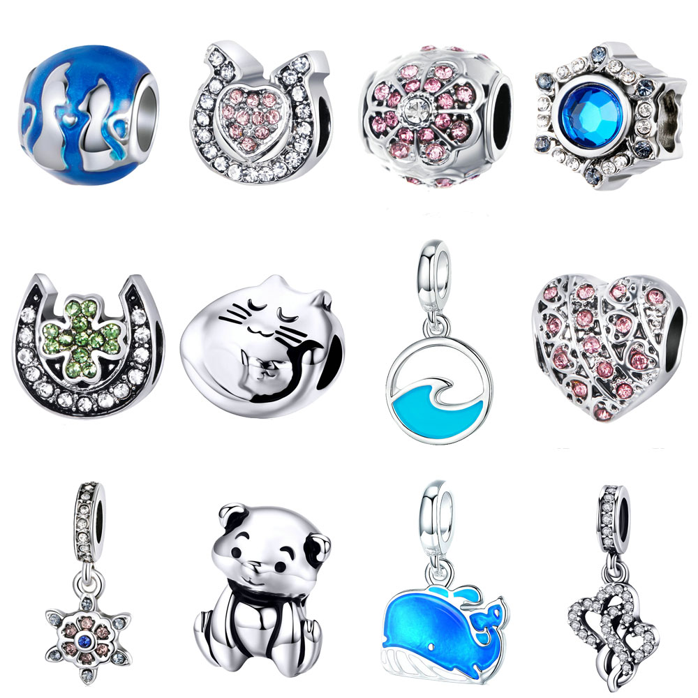 Sterling Silver 3D Moveable Painters Folding Step Ladder Dangle Charm Bead For Bead Charm Bracelet