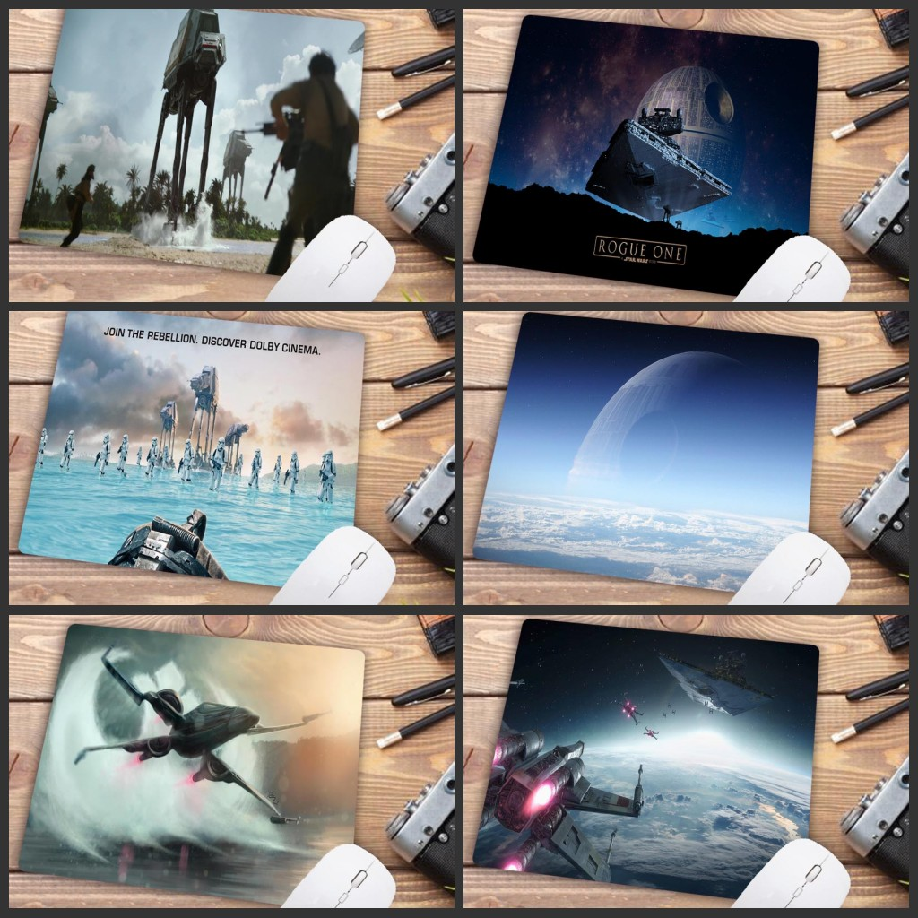 Mairuige Big Promotion Star War Movie High Speed New Gaming Mousepad Small Gaming Mouse Pad Anti-slip Computer Desk Mat 22X18CM