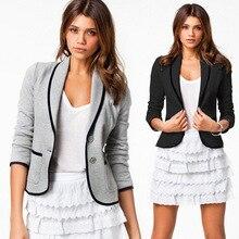 6xl women's clothing clothing Loose Coat Foreign Trade Joker Long Sleeve Jacket Suit Loose Coat Leisure Time Loose Coat jacket string loose utility coat