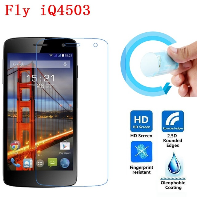Nano Explosion-proof Soft Clear Screen Protector for Fly IQ4503 Era Life 6 New LCD Film (NOT Glass)