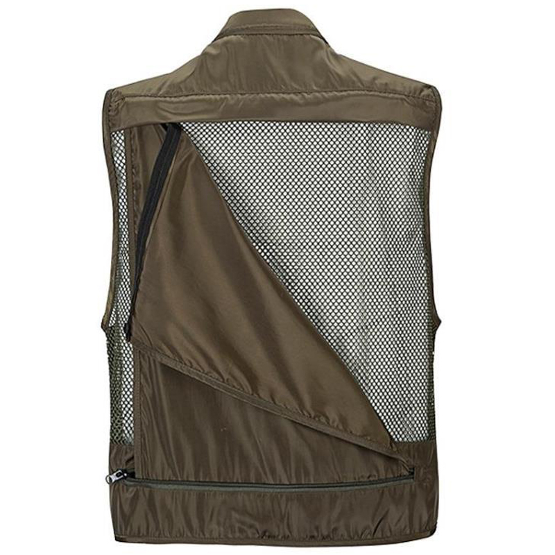 Breathable Multi-functional Quick-dry Men Military Vest Marriage Journalist Photography Multi-pocket Summer Mens Work Vests S267