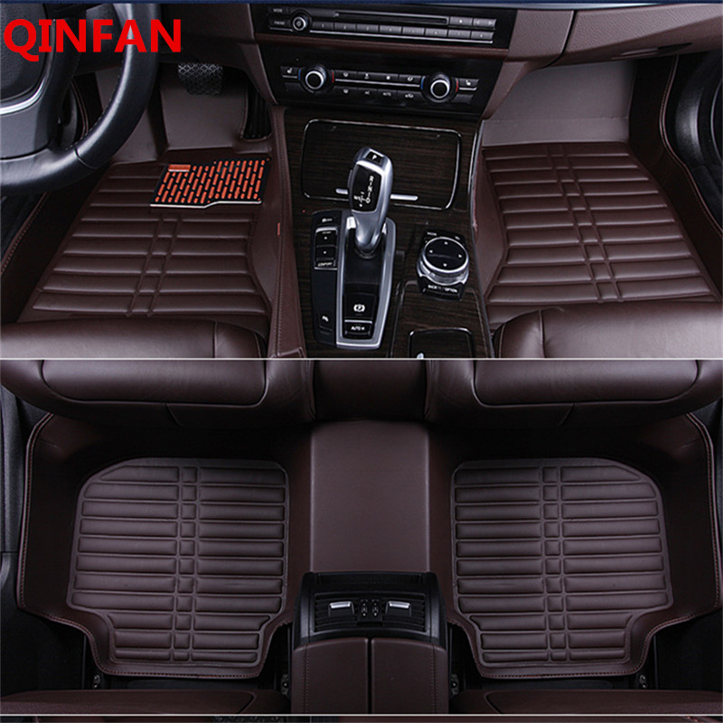 2018 Custom Fit Car Floor Mats for Toyota Camry 40 Corolla RAV4 Verso FJ Land Cruiser LC 200 Prado 3D Car-styling Carpet custom car floor mats for toyota land cruiser prado 150 fit most cars leather carpet mats protect interior four seasons car mats