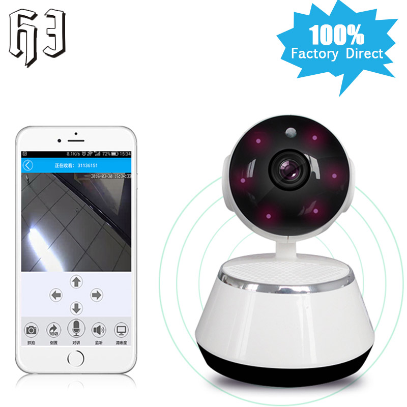 HJ 360 Degree Mini Robot 960P 1.3MP Wireless IP Surveillance Camera WIFI for Baby Video Monitoring Home Security wi-fi Day Night брюки weekend max mara weekend max mara we017ewtmp14