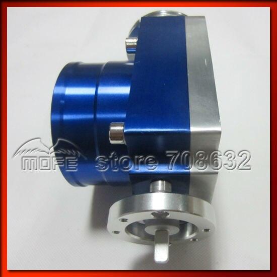 Алюминиевый VQ37TPS Универсальный 80 мм корпус дроссельной заслонки синий