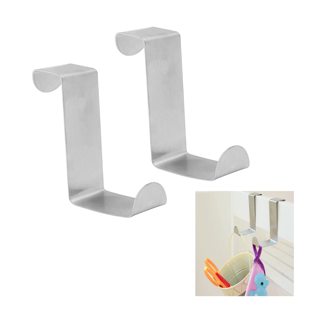 2pcs Portable Hanger Holder Storage Clothes Rack Hooks Wall Hooks For Hanging Wall Hooks Door Hangers Home Furniture Diy Cientificafest Cientifica Edu Pe