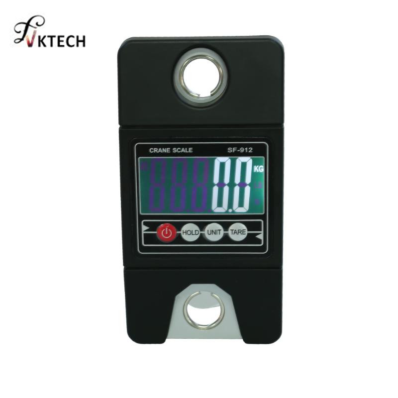 300 kg Mini grúa Industrial escala manija portátil LCD Digital Escala electrónica de servicio pesado colgante peso gancho escala