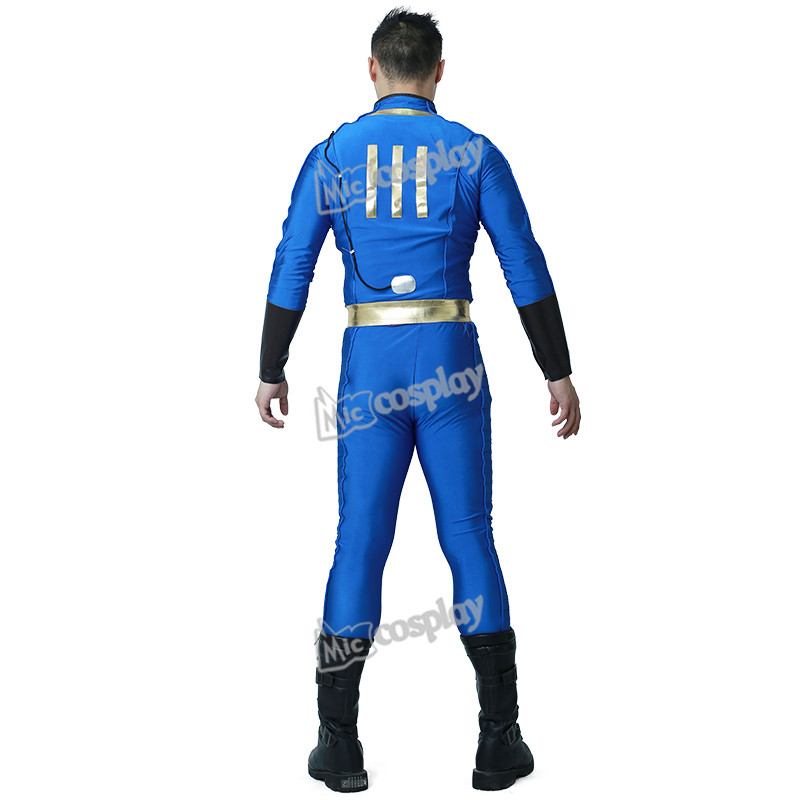 Nate Cosplay Costume Male Sole Survivor Halloween Party Men Clothing 2