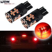 IJDM Car Tail Lights 7443 LED Canbus Error Free Brilliant Red W21 5W T20 LED Replacement