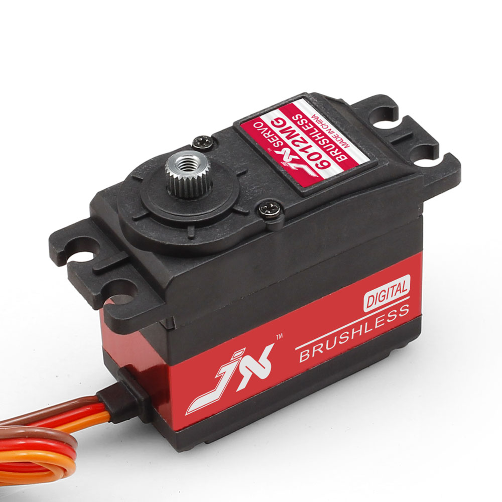 Superior Hobby JX BLS-6012MG 12KG High Precision Metal Gear Brushless Digital Standard Servo superior hobby jx bls hv6105mg 5kg high precision metal gear high voltage brushless digital gyro servo