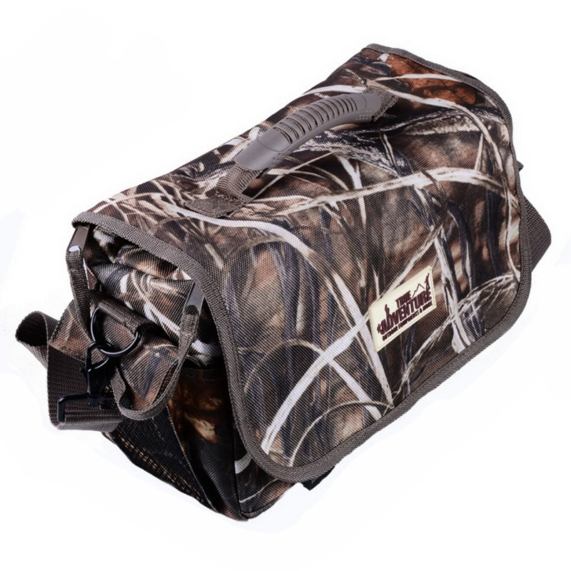 True Adventure Hunting Gun Accessories Camouflage Tactical Hunting Cartridge  Bag Shooting Ammo Bullet Case High Quality Classic