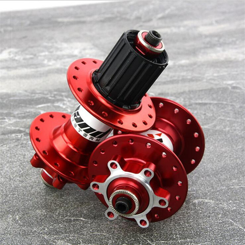 Q874 Quiet level super 4CNC high-end mountain bike off-road vehicle disc brakes hole 32 hole card drum Bicycle Hubs axles Skewer