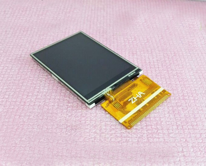 Free shipping 5pc/lot 2.4 TFT LCD screen module No touch 37pin 8/16bits Parallel 240*320 Color LCM ILI9341