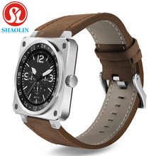 SHAOLIN Mode Smart Watch Dispositifs Portables Bracelet Bluetooth Smartwatch pour Huawei Xiaomi Apple Smartphone Android OS
