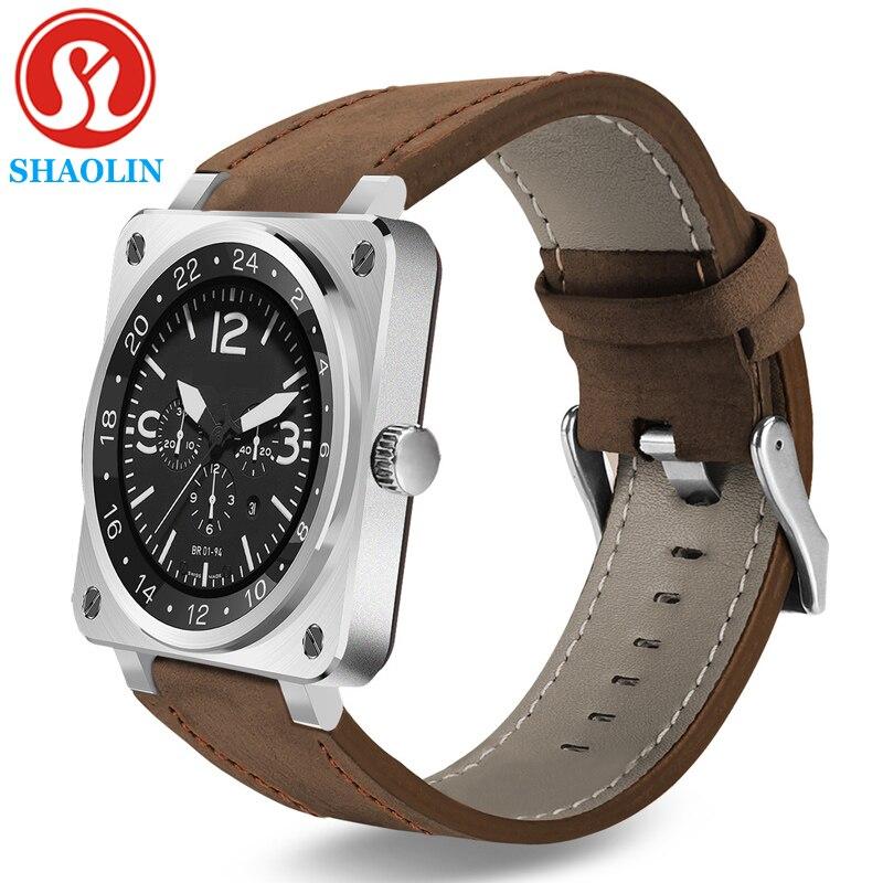 Prix pour SHAOLIN Mode Smart Watch Dispositifs Portables Bracelet Bluetooth Smartwatch pour Huawei Xiaomi Apple Smartphone Android OS