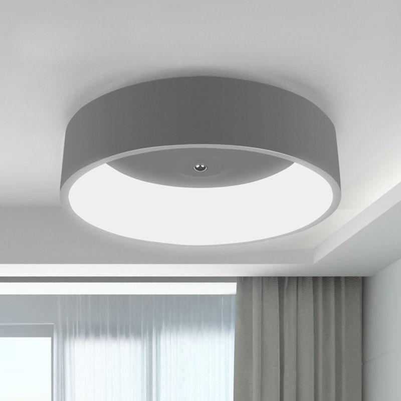 Modern led ceiling light for living room bedroom ring for Led lights for high ceilings