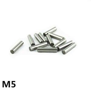 100 шт. 5 мм подшипник стальной цилиндрический штифт для размещения штифта игольчатый валик длина 5 6 7 8 10 12 13 14 16 18 20 22 24 25-50 мм