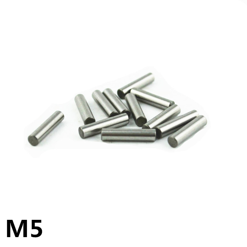 100pcs 5 Mm Bearing Steel Cylindrical Pin Locating Pin Needle Roller Thimble Length 5 6 7 8 10 12 13 14 16 18 20 22 24 25-50 Mm