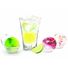 4PCS Round Whiskey Cocktail Ice Ball Maker Silicone Drinking Cube Tray Sphere Molds S L Size Party Bar Kitchen Gadgets