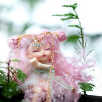 Fairyland FL Realpuki Roro Pink Smile Elves Toy