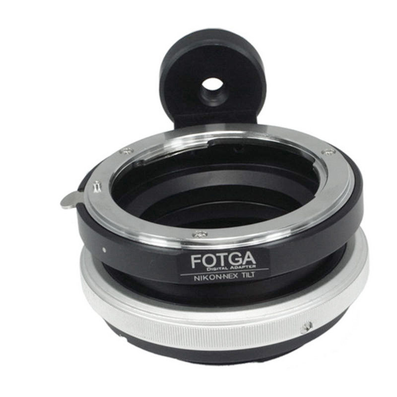 цена на Fotga Tilt Shift Adapter Ring for Nikon F lens to Sony E mount NEX-7 6 5 5R 3 A6000 A5000 A7RIII A7III NEX7