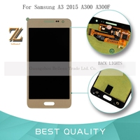 1pcs Replacement OLED LCD Display For Samsung Galaxy A3 2015 A300 A3000 A300F SM A300F LCD