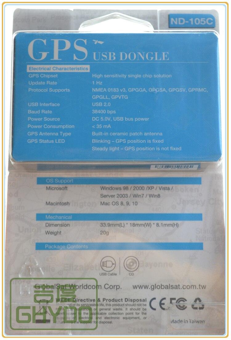 En gros GlobalSat ND-105C remplacer ND100S GPS récepteur USB Dongle Micro USB Interface pour ordinateur portable PC ordinateur portable tablette téléphone intelligent - 5