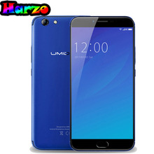 Original Umidigi C Note 2 Android 7.0 Octa Core MTK6750T 1920*1080 5.5 Inch FHD 4GB RAM 64GB ROM 4000mAh Touch ID 4G Cell Phones