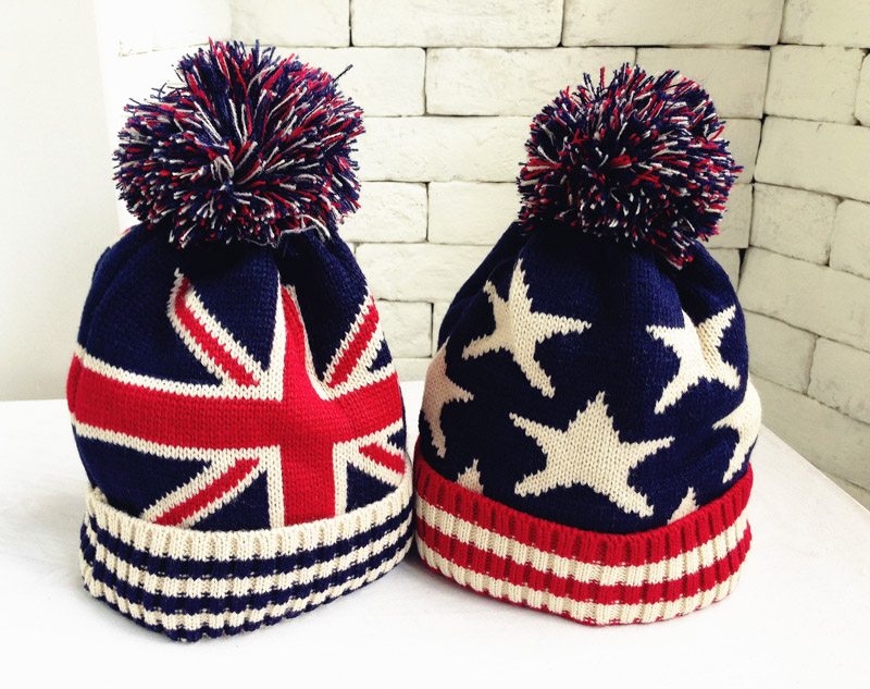 Fashion Children Warm Winter Hats Boys Grils Double Layer Knit Hats Beanie Cap With Pom Poms Skullies Brand New Thick Winter Cap fashion children warm winter hats boys grils double layer knit hats beanie cap with pom poms skullies brand new thick winter cap