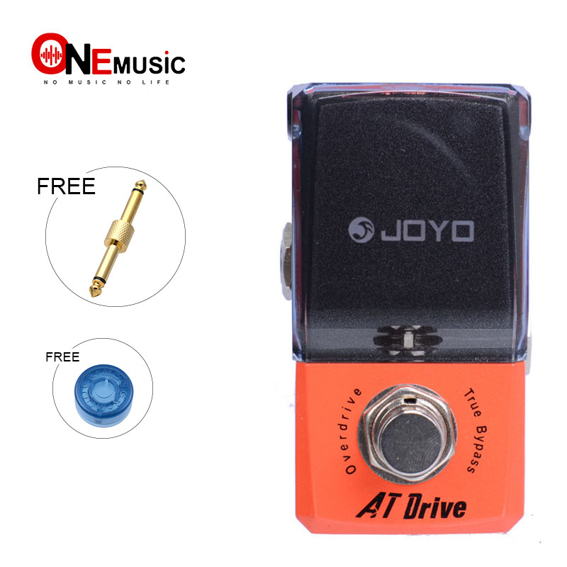 New Joyo AT Drive Overdrive JF 305 New Ironman Mini Series with Effect Pedal connector And