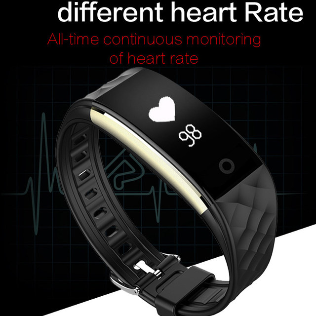 Pewant S2 Smart Band Bracelet Wristband With Heart Rate Bluetooth Smartband For iPhone Xiaomi Huawei PK ID107 Smart wristband