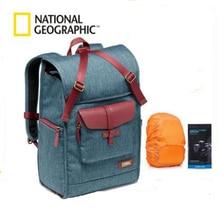 National Geographic AU Series Leather Camera Bag Backpacks Large Capacity Laptop Carry Bag For Digital Video Camera Travel Bag