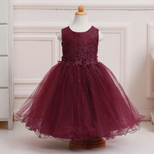 Retail  Flower Girl Dress Girls Evening Prom Dress Summer Communion Ball Gown LL313