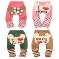 Leggings bebê Da Menina do Menino Dos Desenhos Animados PP Pants Imprimir Calças de Algodão Desgaste Do Miúdo Para A Primavera Outono Crianças Leggings Roupa Das Crianças