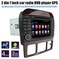 Для Mercedes Benz S CL Касс W220 W215 S280 S320 S430 S500 DVD радио плеер GPS Поддержка камеры заднего вида bluetooth
