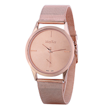 Silver Rose Gold Women Watches Luxury High Quality Water Resistant Montre Femme Stainless Steel 2016 Dress Woman Wrist Watches