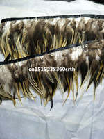 NEW 12 15cm/5 6inch wide 10 yards rare Natural eagle feathers ribbons Decorative diy Clothing & Accessories stage performance