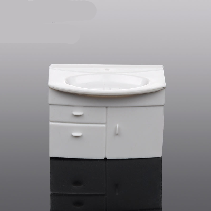 Building indoor model/bathroom Decoration/model Bathroom Vanity/sandbox mold material/DIY craft materials/toy accessories