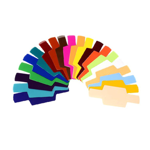 Image 2 - Filtro de gel para fotografía difusor de iluminación de tarjeta, 20 colores, para Canon, Nikon, Sony, Yongnuo, Godox, Flash, Nissin, Speedlite