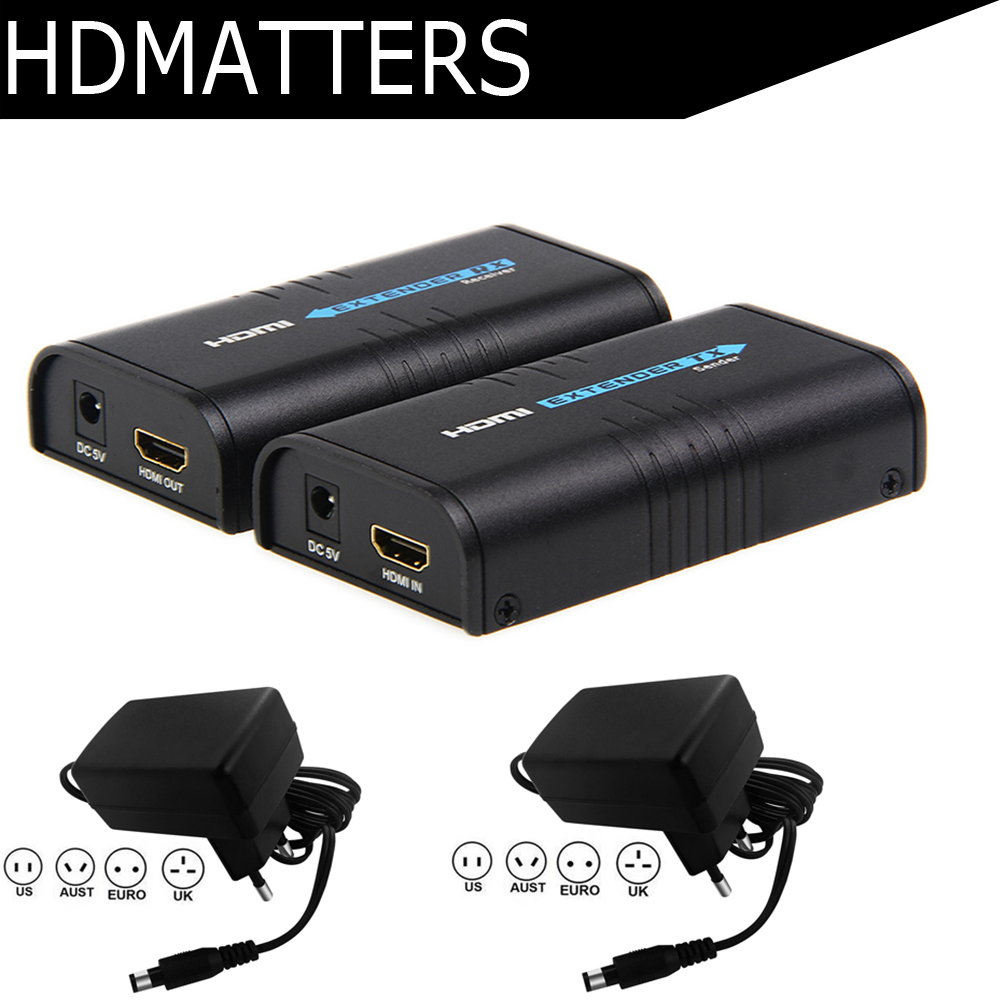 Up to 120M HDMI extender LKV373A sender transmitter or receiver only V3.0 1080P by cat5e/6 cable-in HDMI Cables from Consumer Electronics