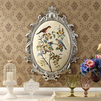 Wall Mural Room Porch Restaurant American Bird Ornaments Home Furnishing Soft Outfit Pendant Mural Wall