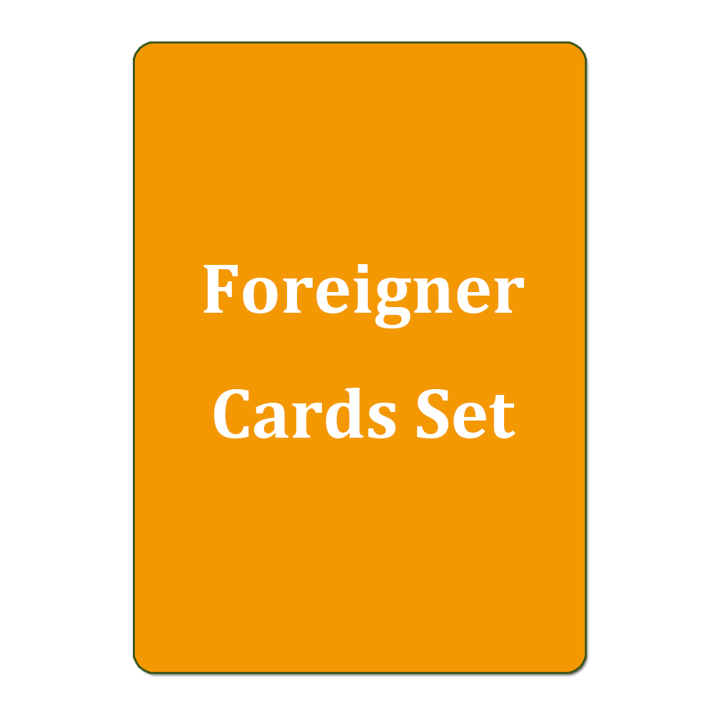 Foreigner Cards Set Choose Custom Cards List Koera/Russian/Japan/Chinese Magical Cards Proxy ...