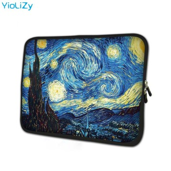 Van Gogh print laptop bag 7.9 notebook sleeve cover tablet case 7 Tablet Protective Shell skin for galaxy tab 2 TB-24818 new design tablet laptop cover for lenovo 12 2 miix 510 miix5 sleeve case pu leather skin protective for miix510 stylus