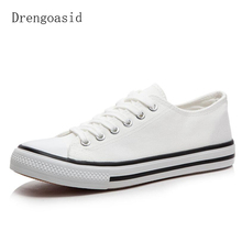 2019 New Color Canvas Women Low To Help Men And Women Couple Student Shoes Casual Shoes Candy  Vulcanized shoes стоимость